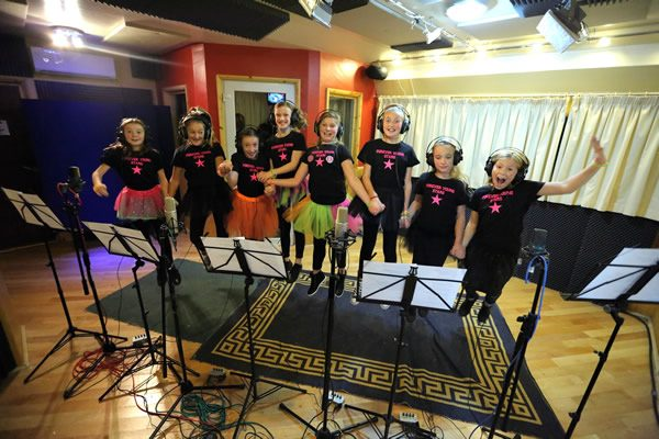 PopKids Recording Studio Party