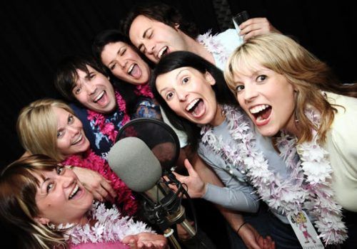 Hen Party Recording Studio Experience