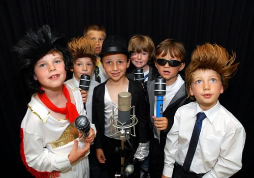 Childrens Recording Studio Experience
