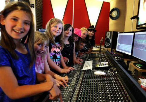 Kids Party Recording Studio Experience