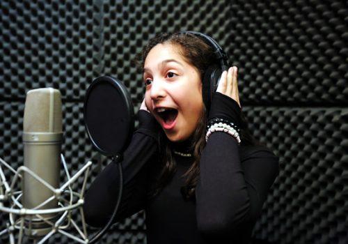 Studio Singing Experience