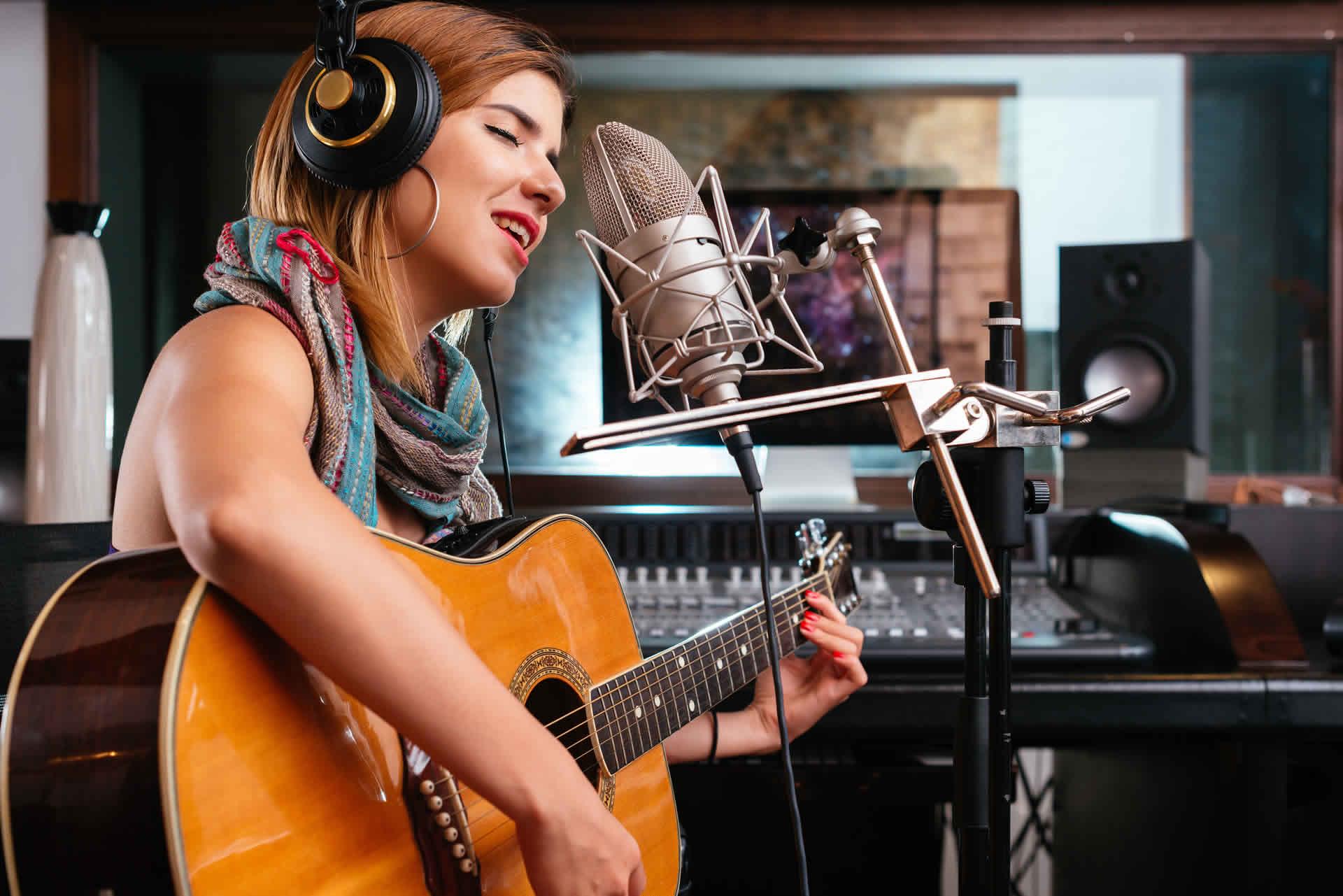 Musician Recording Studio Experience