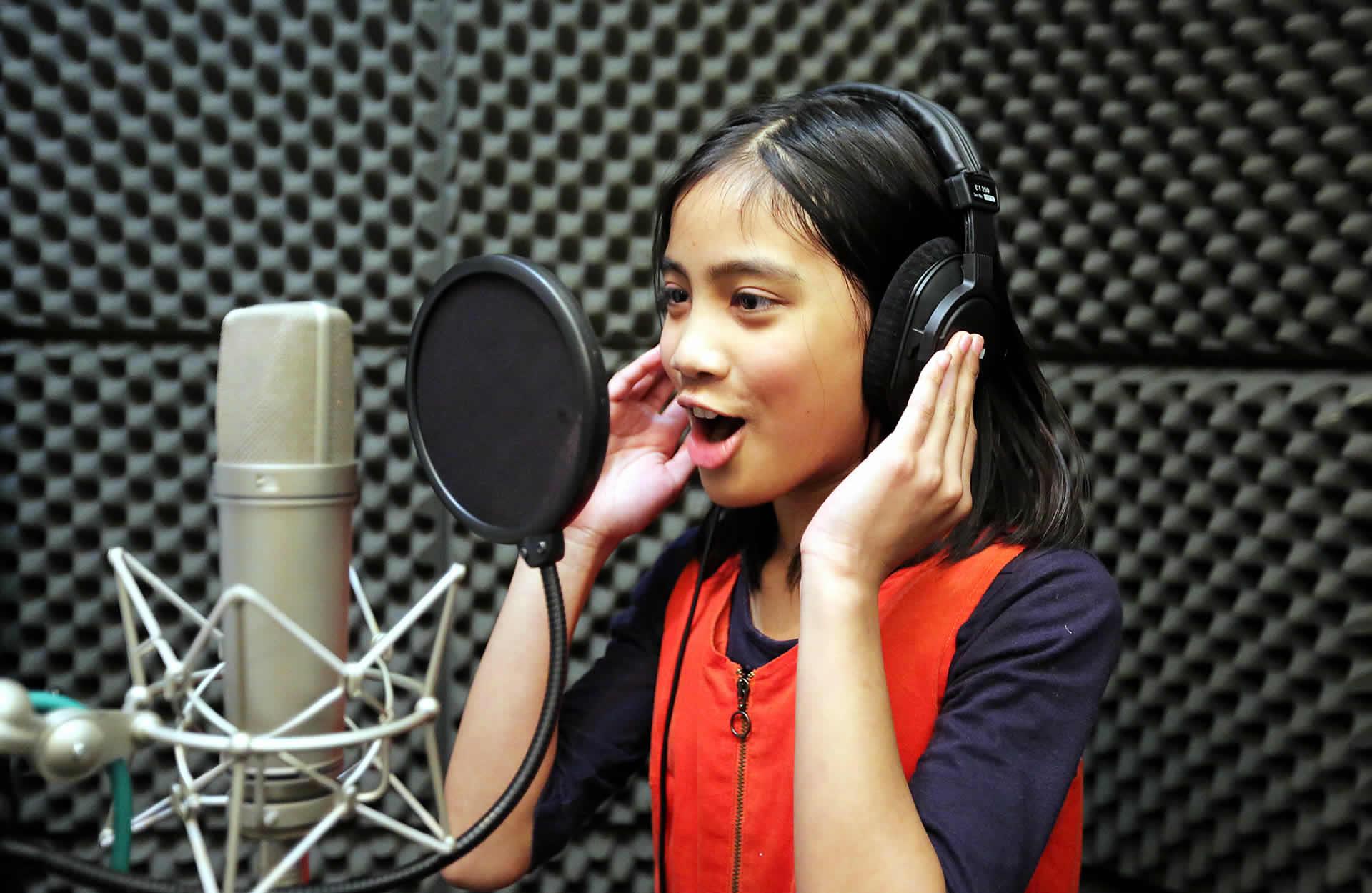 Studio Singer Experience